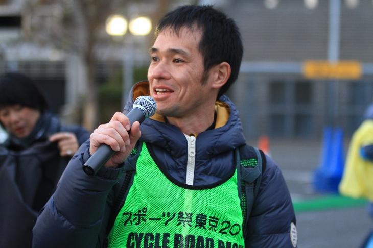 この大会の仕掛け人である東京ヴェントスの二戸代表