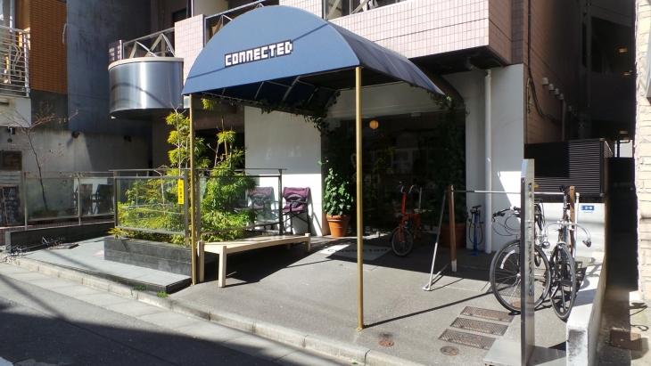 渋谷にあるセレクトショップ「connected」