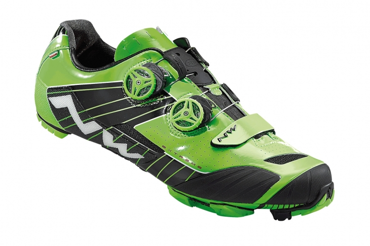 ノースウェーブ EXTREME XC(GREEN FLUO-BLACK)