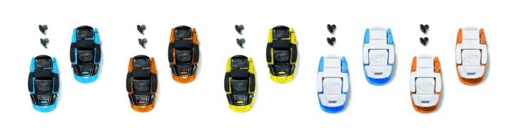 シディ キャリパーバックル(ライトブルー/ブラック、オレンジ/ブラック、イエロー/ブラック、ライトブルー/ホワイト、オレンジ/ホワイト)