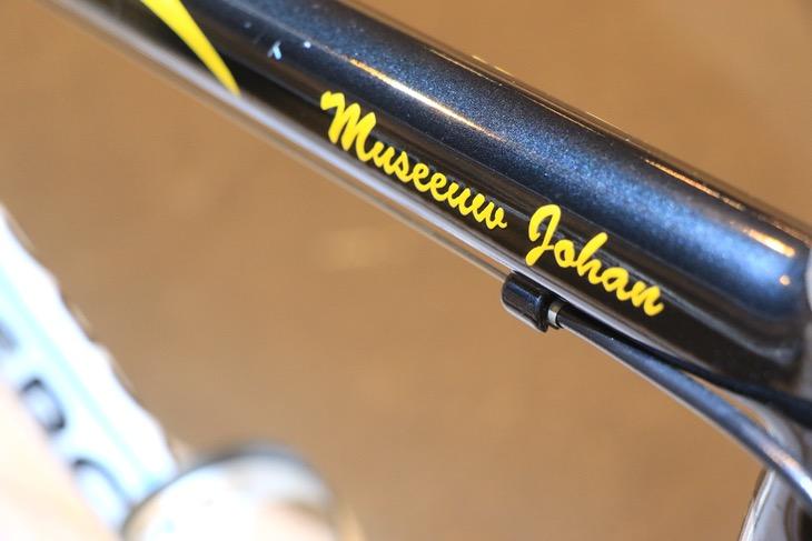 ヨハン・ムセーウのバイクだった証