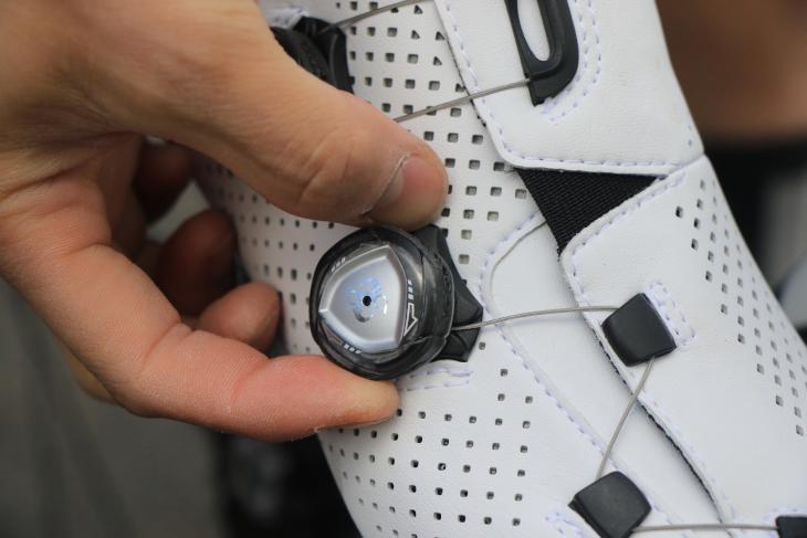 微調整が可能で、使い勝手に優れるBOAクロージャー