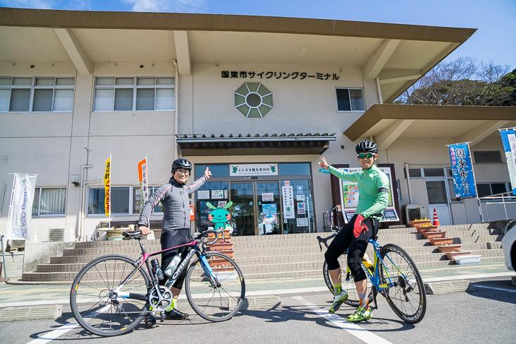 国東市サイクリングターミナル。レンタサイクルや道の駅、地元の味も楽しめる旅の拠点