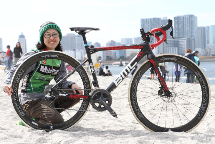 鈴木成美さん(Mile Post Racing)BMC Crossmachine CX01
