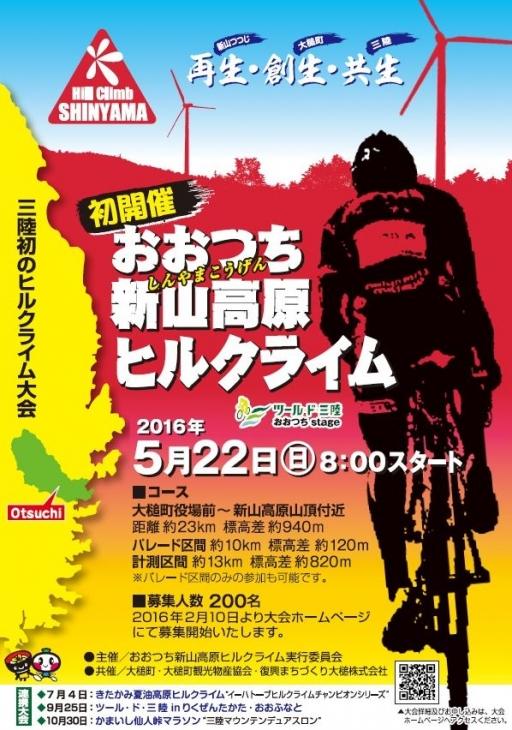 おおつち新山高原ヒルクライム2016