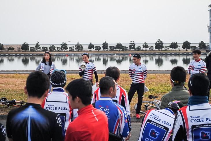 VC Fukuokaが主催した福岡県柳川市やまと学校でのレース