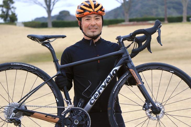 鈴木卓史さん(スポーツバイクファクトリー北浦和スズキ)