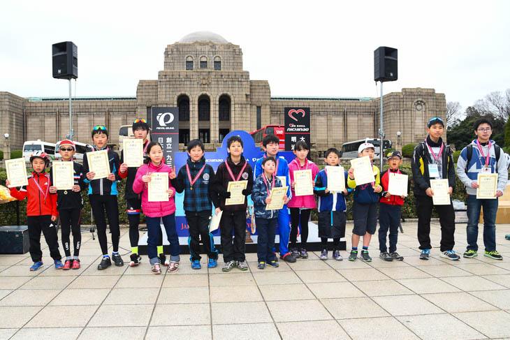小中学生タイムトライアルも同日開催