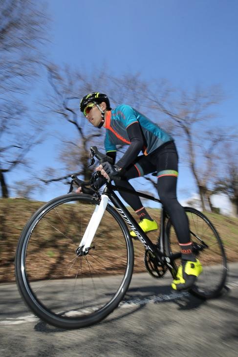 「一言で表現するならば『漢の自転車』 剛性溢れるスプリンター向けマシン」 寺西剛(シミズサイクル サイクルスポーツ本館)