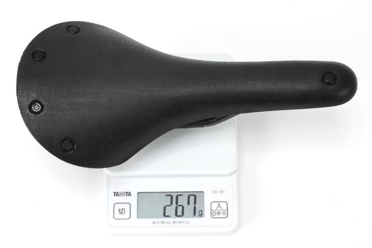 実測重量は267g