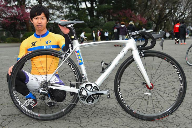小林和希さん(明治大学): photo:Satoru.Kato