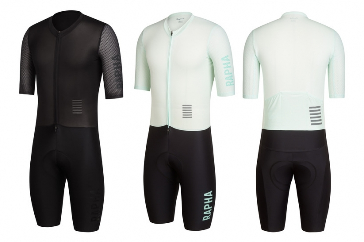 Rapha Pro Team Aerosuit(Black、Light Blue/Black)