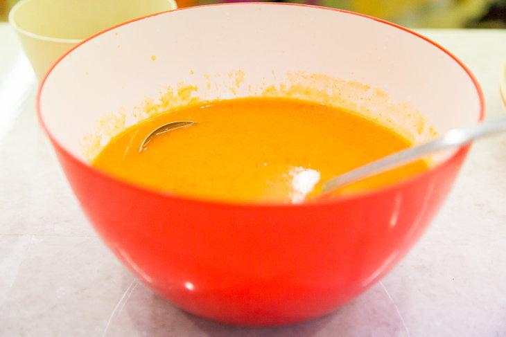 美味しかったパプリカのスープ。なんと調味料を使わずに作られている