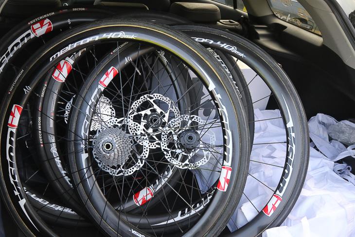 パリ〜ルーベでは2チームがディスクブレーキを使用