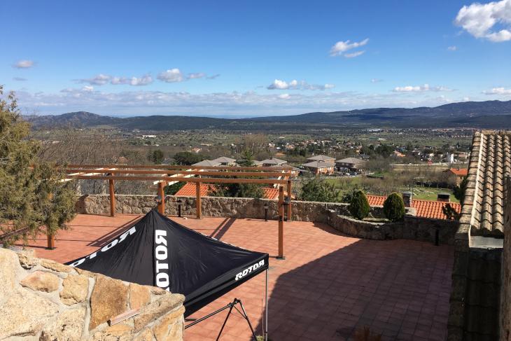 ブエルタの舞台となることも多いスペイン・マドリード北部の山岳地帯で開催されたローターUNOのメディア向け発表会