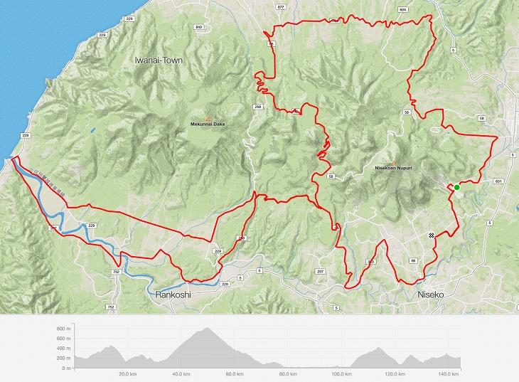 140kmコースマップ