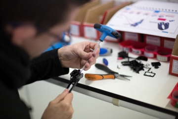 設計から製造・組み立てまでを一貫してスペインの本社ファクトリーで行っている: photo:ROTOR