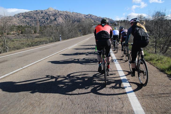 1級山岳「プエルト・デラ・モルクエラ」へのアプローチ
