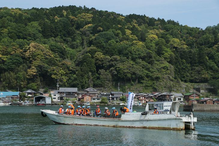 人口350人が暮らす有人島、沖島を訪れた