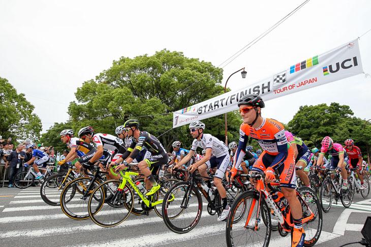国内最高峰にして最大規模のステージレースとなったツアー・オブ・ジャパン