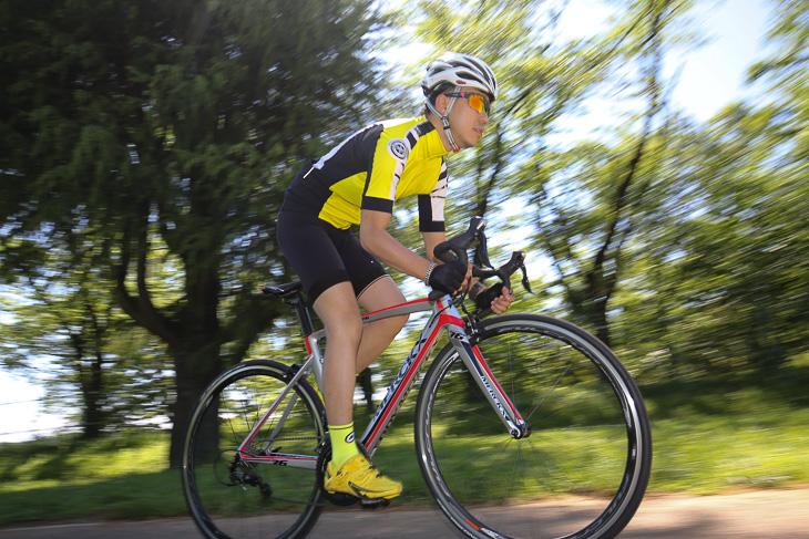 「荒地での走りを重視したバイク 振動の収束が早く、そして適切な剛性も有る」錦織大祐(フォーチュンバイク)