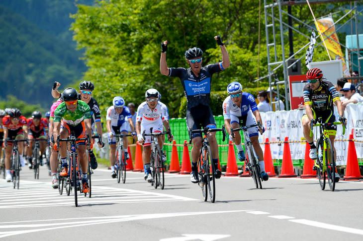昨年ステージ2勝のアンソニー・ジャコッポ(アイソウェイ・スポーツ・スイスウェルネス)