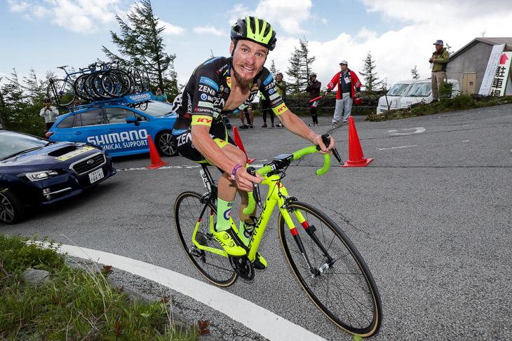 昨年の富士山ステージで歴代2位のタイムで優勝したオスカル・プジョル(チーム右京)