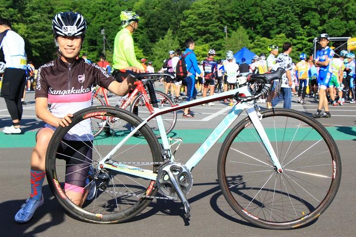 松本雪子さん(山岳会)トレック Madone7