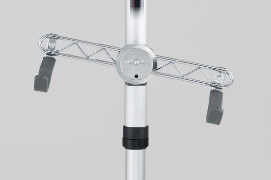 角度をつけることができるため、バイクの座りがいいポジションを見るけることができる