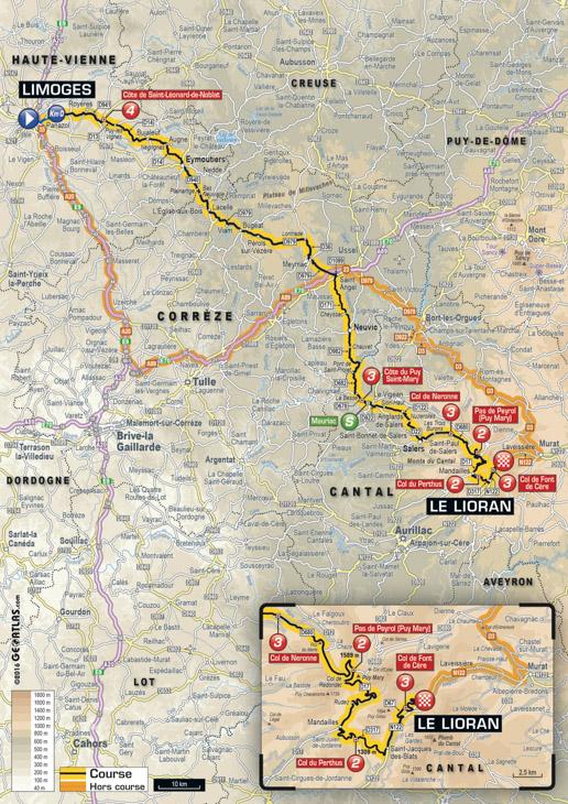 ツール・ド・フランス2016第5ステージ
