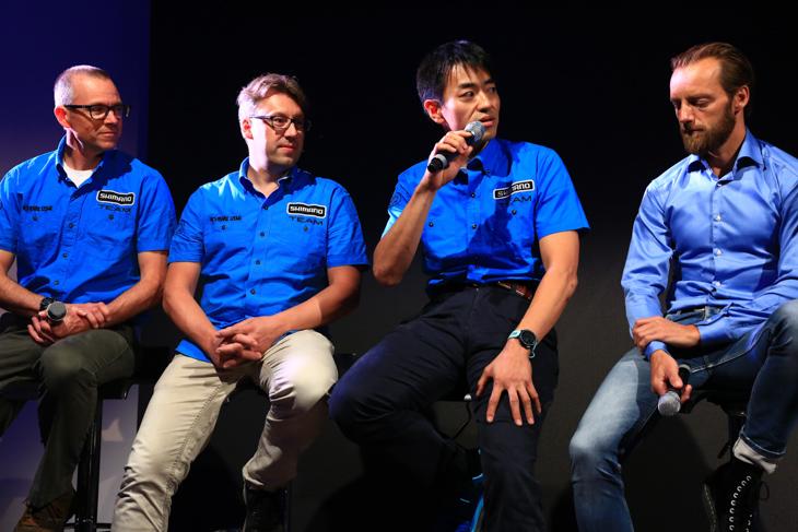 開発陣「チームシマノ」の原田氏が開発の信念を語る。