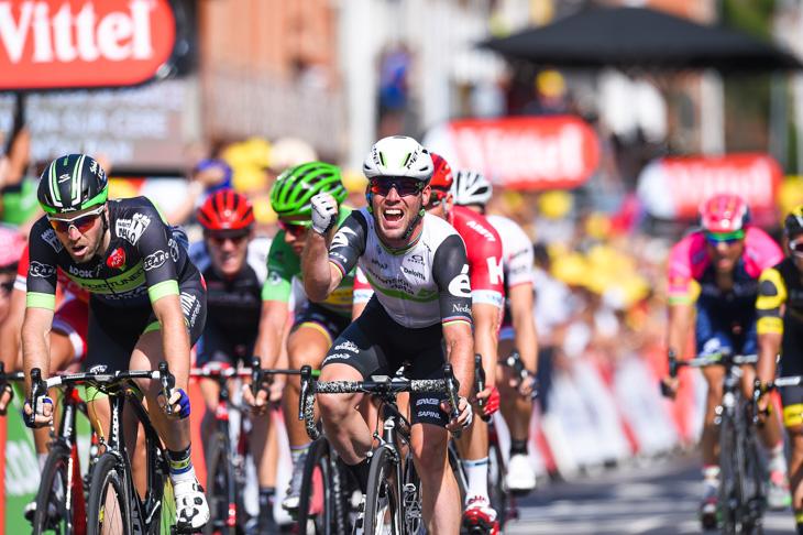 ステージ3勝目を飾ったマーク・カヴェンディッシュ(イギリス、ディメンションデータ)