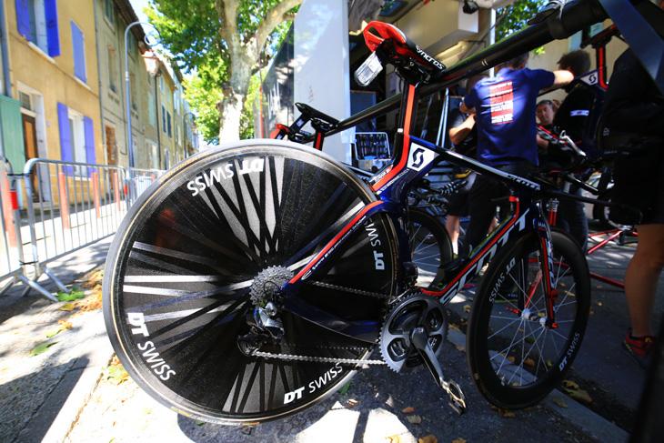 IAMサイクリングのスコット PLASMA 5 TEAM ISSUE: photo:Makoto.AYANO
