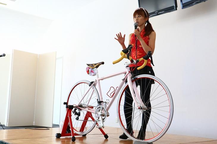 絹代さんによる自転車女子講座