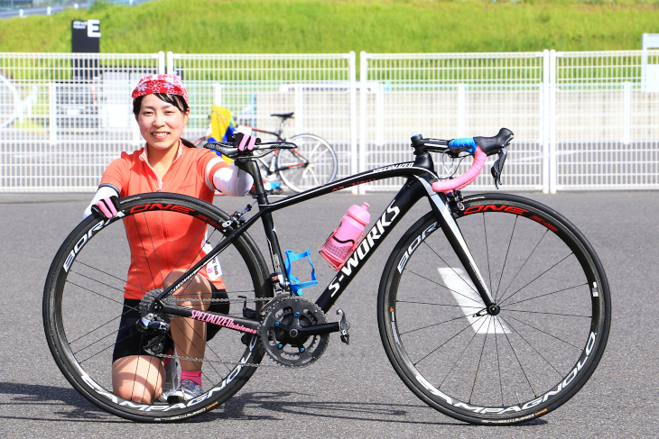 横谷里紗さん(INSPIRE RACING TEAM)スペシャライズド S-Works Amira