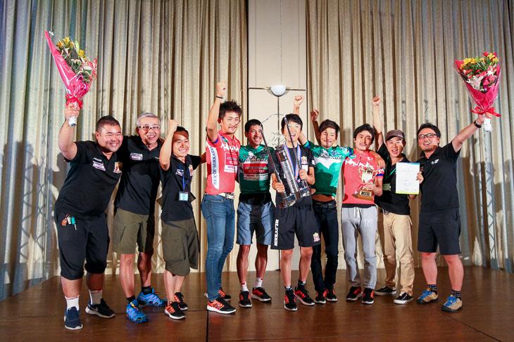 「目標は連覇達成」日本人選手だけで構成の宇都宮ブリッツェンがUCIレースを制した
