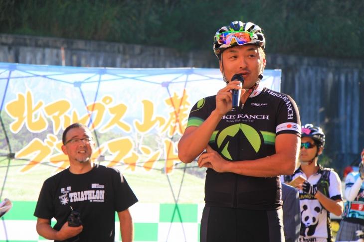 大会のコースを設定した鈴木雷太さん