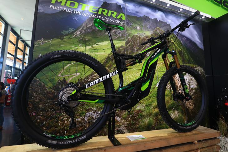 """キャノンデールのE-Bike """"MOTERRA"""""""