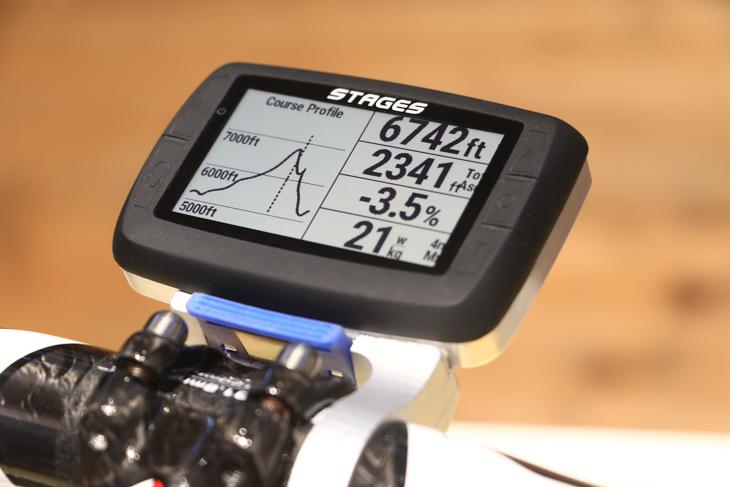 ステージスはパワーメーターに対応するモニターを発表