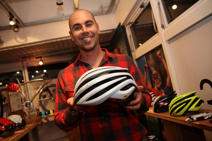 ブランドマネージャーのエリック・リヒター氏「レースから週末のサイクリングまで様々なシチュエーションにおすすめです」