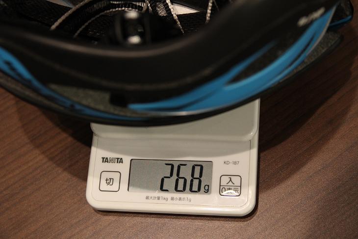 カバー装着時のS/Mサイズ実測重量は268g