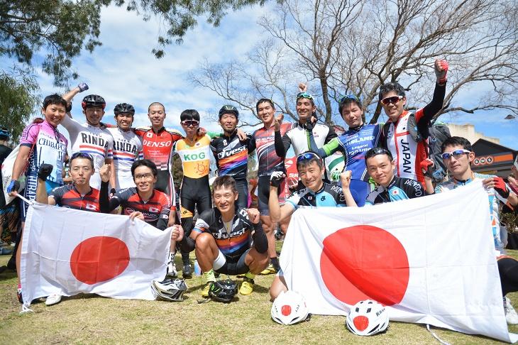 グランフォンド世界大会に挑んだ日本選手団
