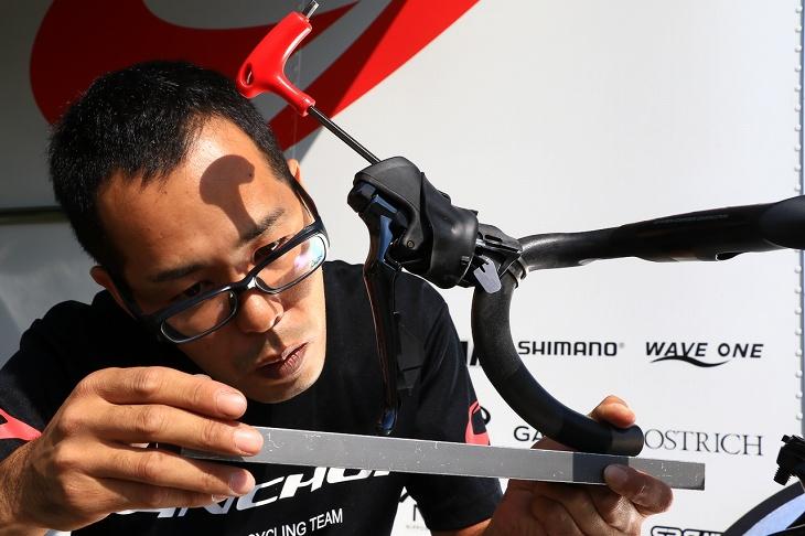 セッティングがどんな自転車でも出しやすいというのは大きなメリットですね