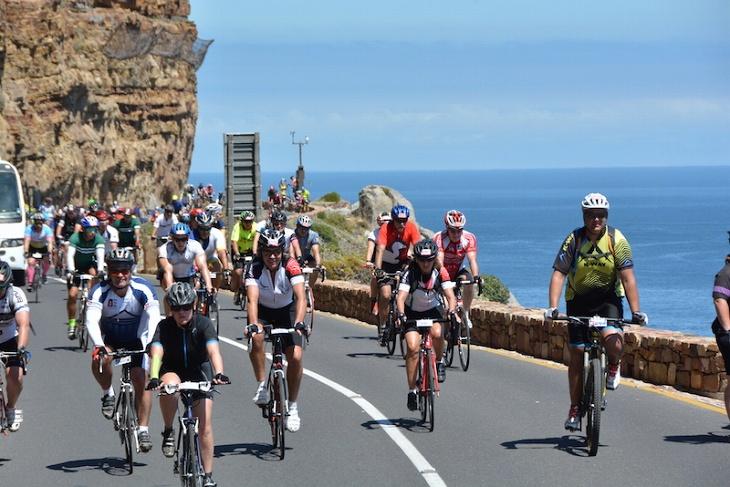 35000人が参加する世界最大のサイクルイベント