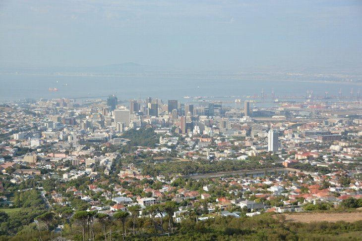 南アフリカ第二の都市ケープタウン