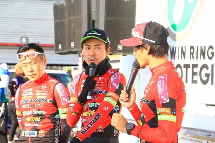 パワートレーニングクリニックでは、鈴木譲選手らが実際のレースでの目安などについて語ってくれた