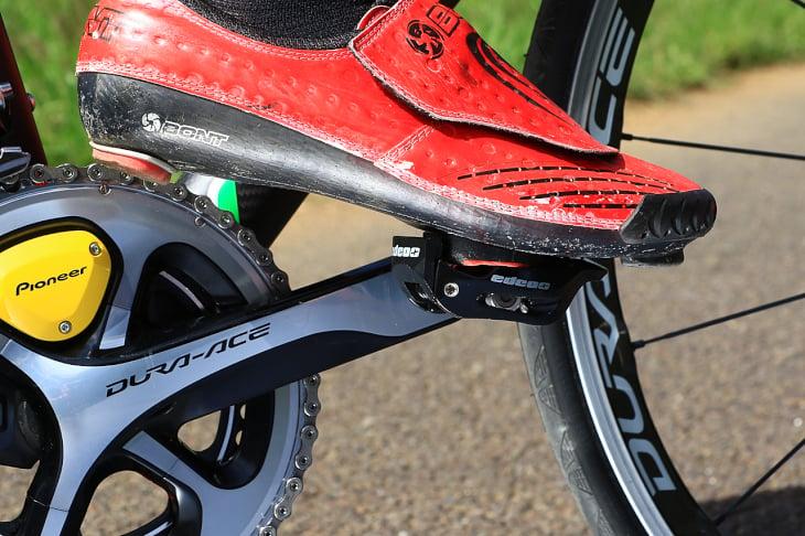「脚に優しくかつ出力の向上も見込める革新的なペダル」杉山友則(Bicicletta IL CUORE)