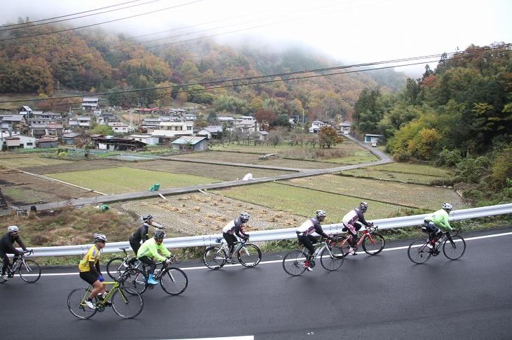 富士川流域を駆け巡る南アルプスロングライド2016