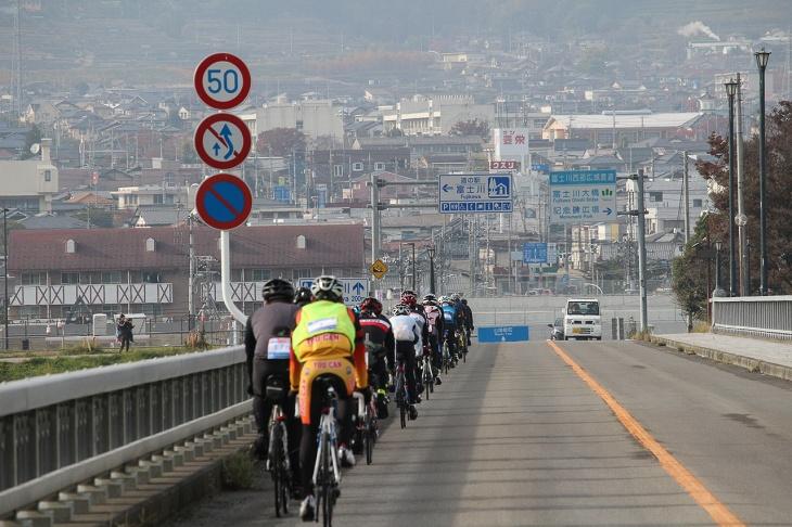 道の駅富士川を通り過ぎ、最後の山岳ポイントへ向かう
