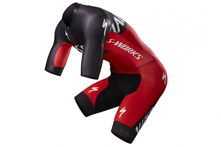 S-Works Evade GC Skinsuit(TEAM RED)